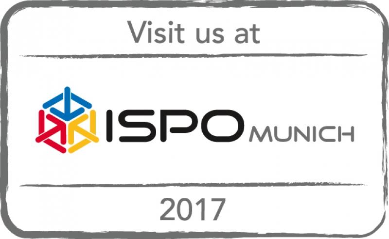 VISIT US AT ISPO MUNICH 2017